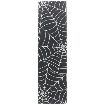 HARD LUCK GRIP TAPE ROY SPIDER WEB BLACK/CLEAR - The Drive Skateshop