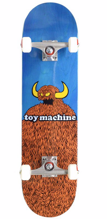 TOY MACHINE COMPLETE - FURRY MONSTER (8.25