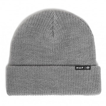 HUF ESSENTIALS USUAL BEANIE GREY HEATHER