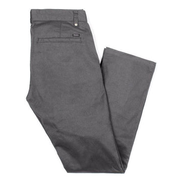 RESERVE CHINO PANT - CHARCOAL