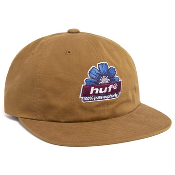 HUF 100% PURE SNAPBACK TOFFEE - The Drive Skateshop