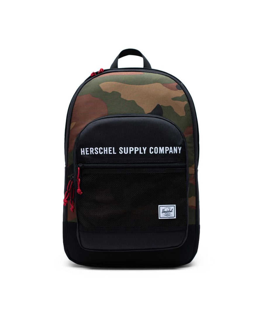 HERSCHEL KAINE BLACK/WOODLAND CAMO - Seo Optimizer Test