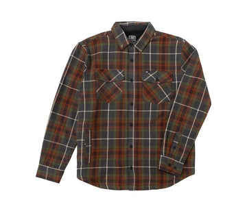 LOSER MACHINE FLANNEL JACKET ALCOTT - The Drive Skateshop