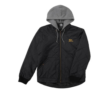 LOSER MACHINE CANNON JACKET BLACK - The Drive Skateshop