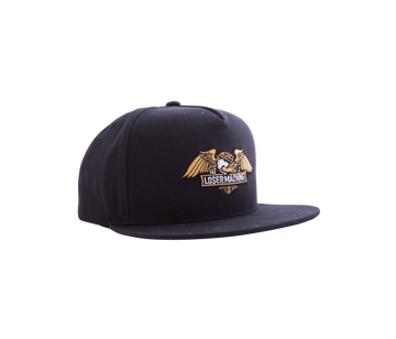 LOSER WINGS SNAPBACK HAT BLACK - Seo Optimizer Test