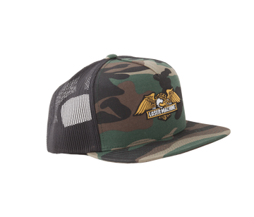 LOSER WINGS TRUCKER HAT CAMO - The Drive Skateshop