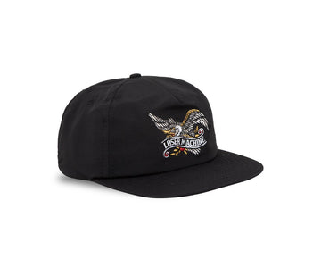 LOSER MACHINE GLORY BOUND NYLON CAP BLACK