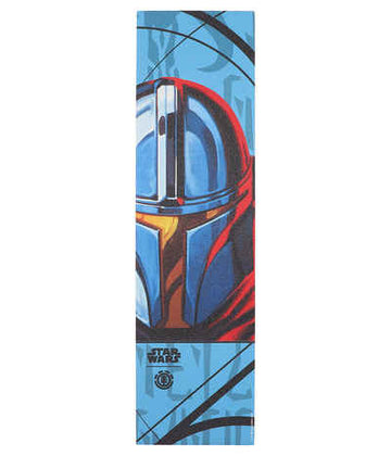 ELEMENT X THE MANDALORIAN GRIP TAPE SHEET MANDO CARD - The Drive Skateshop