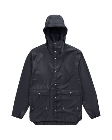 HERSCHEL RAINWEAR PARKA BLACK - The Drive