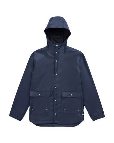 HERSCHEL RAINWEAR PARKA NAVY - The Drive