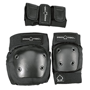 PRO-TEC - JUNIOR 3-PACK PADS - The Drive Skateshop