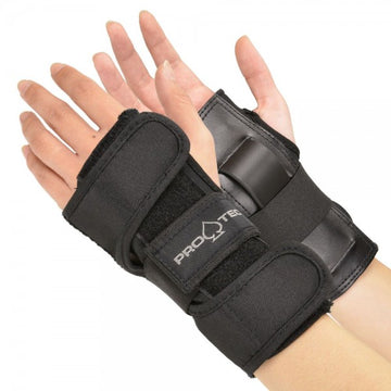 PRO-TEC - STREET WRIST GUARD BLACK - The Drive Skateshop