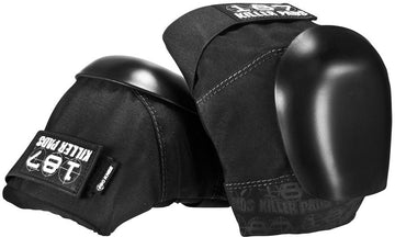 187 KILLER PADS PRO KNEE PADS BLACK - The Drive Skateshop