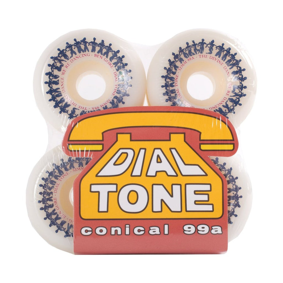 DIAL TONE - DEVINE DANCE CONICAL 99A PURPLE (52MM) - The Drive Skateshop