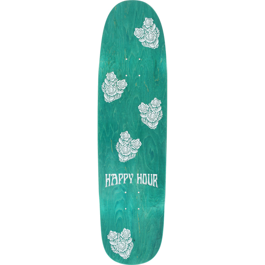 HAPPY HOUR DECK - BLACK LIGHT MUSHROOM SHAPED (8.5