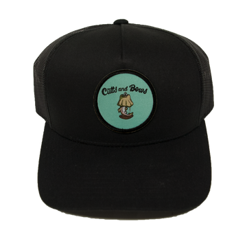 CUTTS AND BOWS HASLAM TROUT TRUCKER HAT