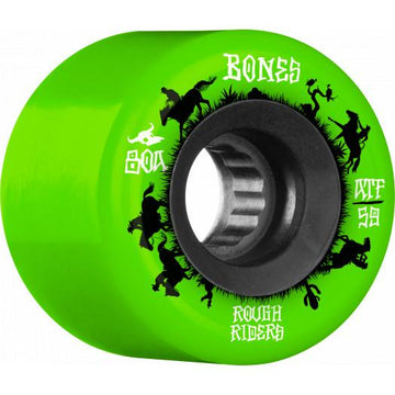 BONES ATF ROUGH RIDER WRANGLER CRUISER WHEELS (59MM) - The Drive Skateshop