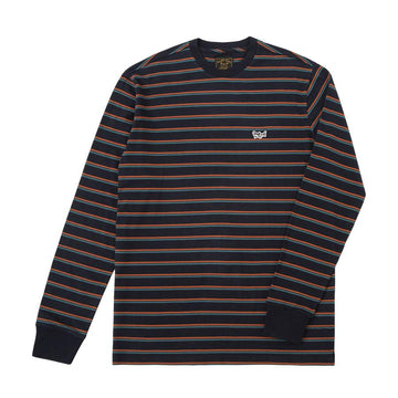 DARK SEAS GLENNEYRE KNIT NAVY/RUST