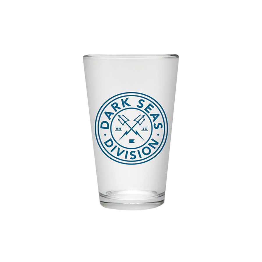 DARK SEAS NAVIGATOR PINT GLASS - The Drive Skateshop