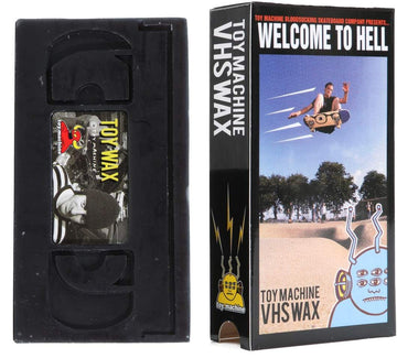 TOY MACHINE WELCOME TO HELL VHS WAX - The Drive Skateshop