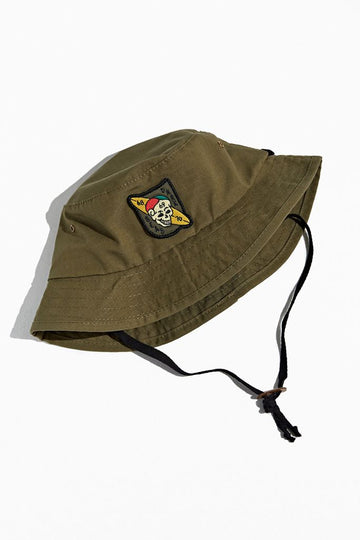 DARK SEAS MILLER BUCKET HAT ARMY