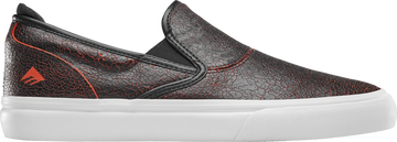 EMERICA WINO G6 SLIP ON BLACK/RED/WHITE