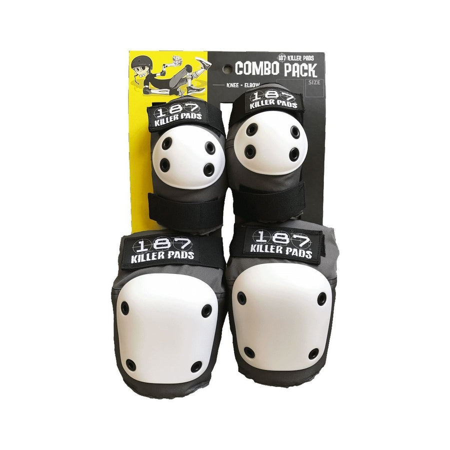 187 KILLER PADS - SET (KNEES & ELBOWS) - The Drive Skateshop