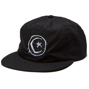 FOUNDATION STAR AND MOON HAT BLACK