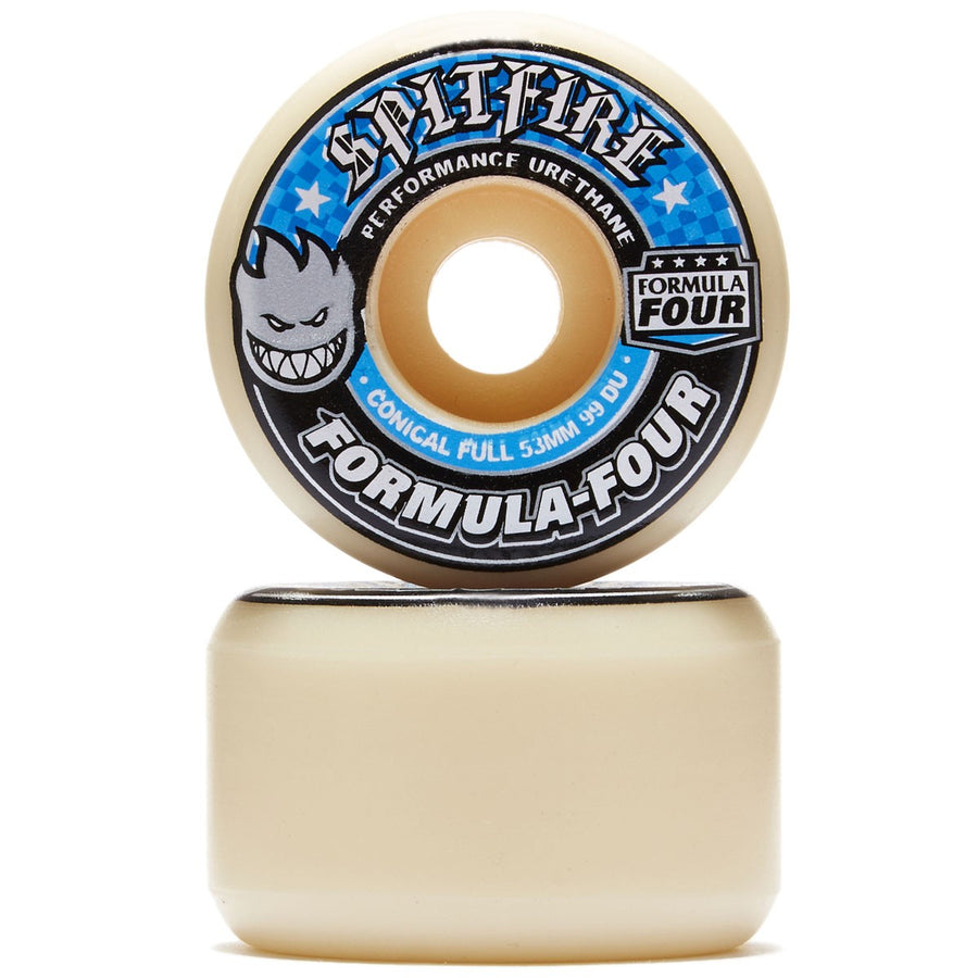 SPITFIRE FORMULA 4 99A CONICAL FULL (52MM/53MM/54MM/56MM) - The Drive Skateshop