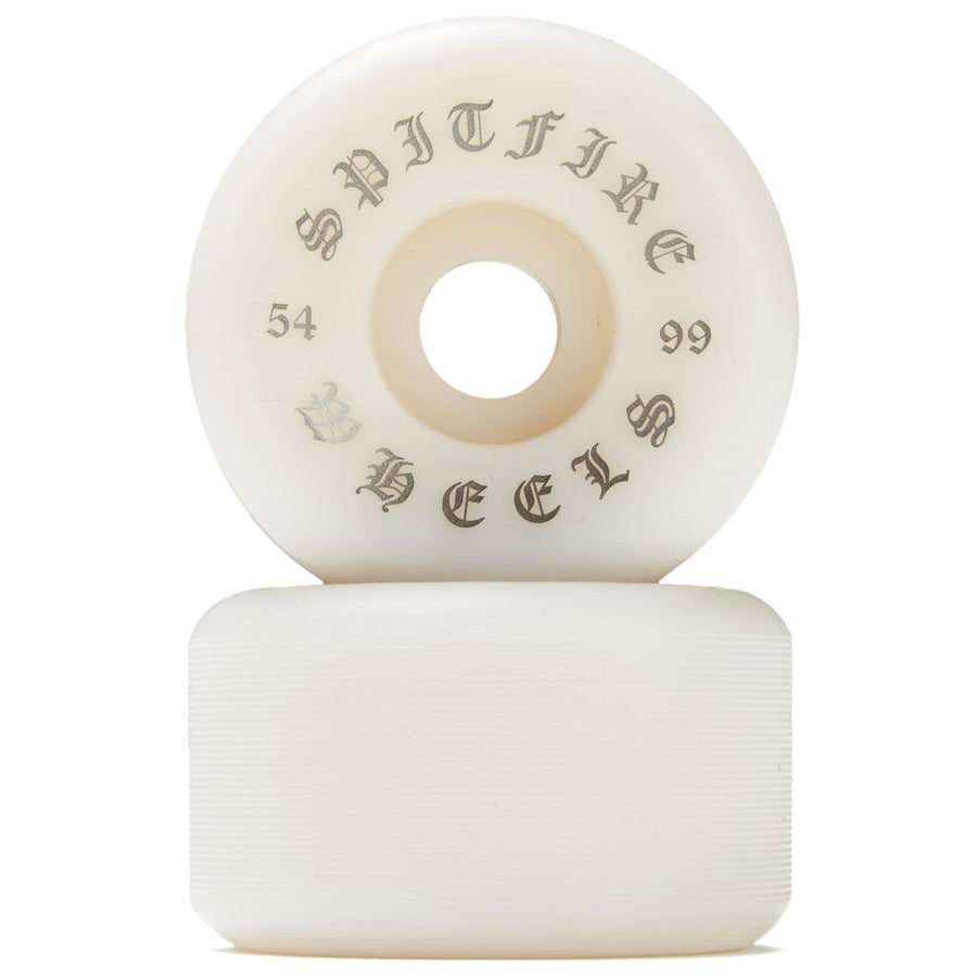 SPITFIRE WHEELS - OG CLASSICS WHITE 99A (54MM) - The Drive Skateshop