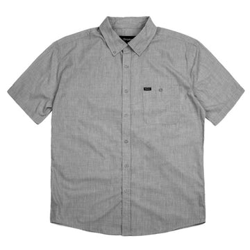CENTRAL S/S WVN - HEATHER GREY - The Drive