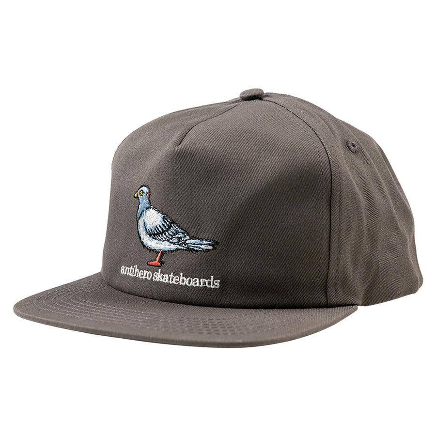 ANTIHERO LITTLE PIGEON SNAPBACK DARK GREY - Seo Optimizer Test