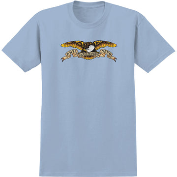 ANTIHERO EAGLE SS TEE POWDER BLUE