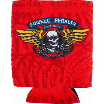 POWELL PERALTA KOOZIE - WINGED RIPPER RED