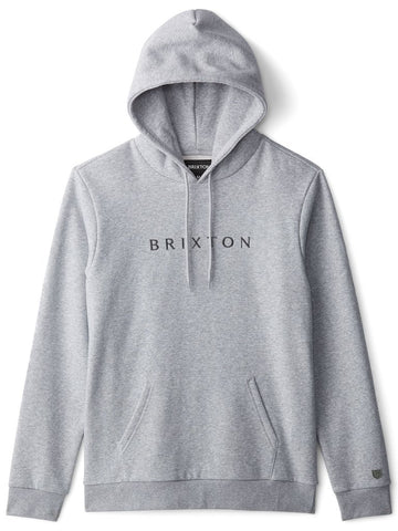 BRIXTON ALPHA LINE HOOD - HEATHER GREY - Seo Optimizer Test