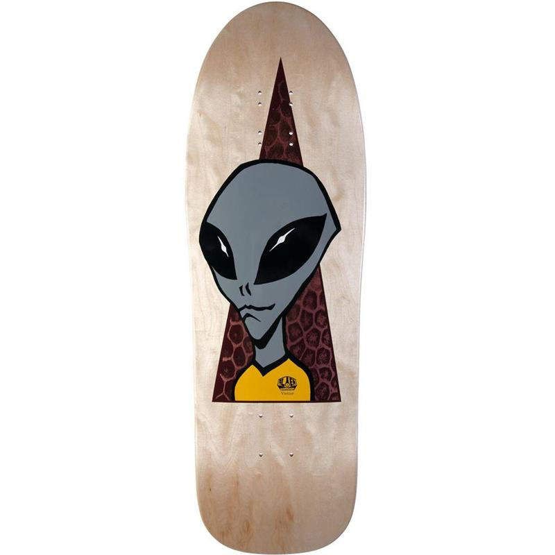 ALIEN WORKSHOP VISITOR 1990 RE-ISSUE DECK (9.675