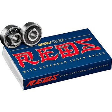 BONES BEARINGS - RACE REDS (SET OF 8) - The Drive Skateshop