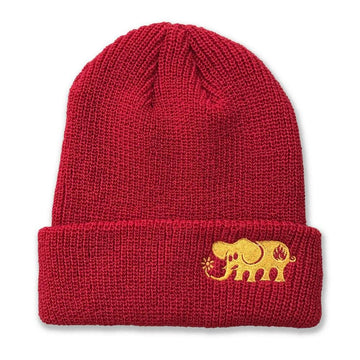 BLACK LABEL BEANIE - ELEPHANT - The Drive