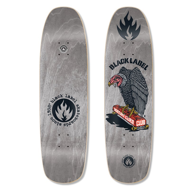 BLACK LABEL DECK - VULTURE CURB CLUB (8.88