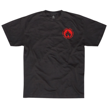 BLACK LABEL TEE - SNAKE & RAT - The Drive Skateshop