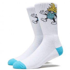 HAPPY HOUR DANCING P SOCKS WHITE