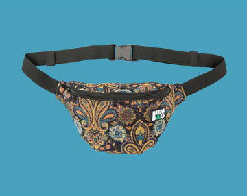 BUMBAG BASIC HIP - ETHYL BLACK PAISLEY - The Drive