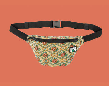 BUMBAG BASIC HIP - ETHYL TAN FLORAL - The Drive