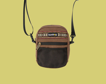 BUMBAG COMPACT SHOULDER - EXPLORER BROWN - The Drive