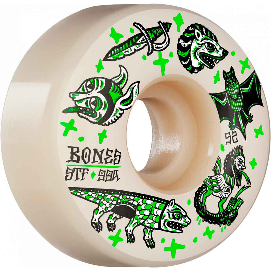 BONES STF WHEEL - DARK KNIGHTS V1 STANDARD 99A (52MM) - Seo Optimizer Test
