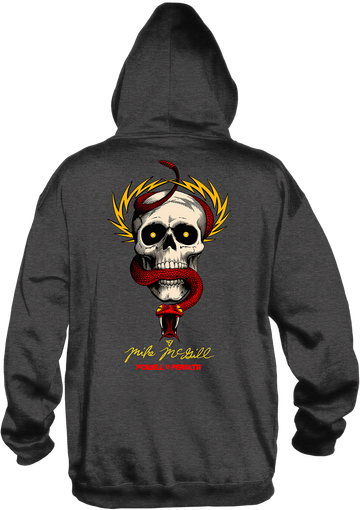 POWELL-PERALTA - MCGILL HOODY CHARCOAL