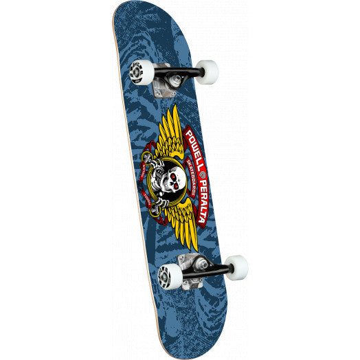 POWELL-PERALTA COMPLETE - WINGED RIPPER BLUE (8