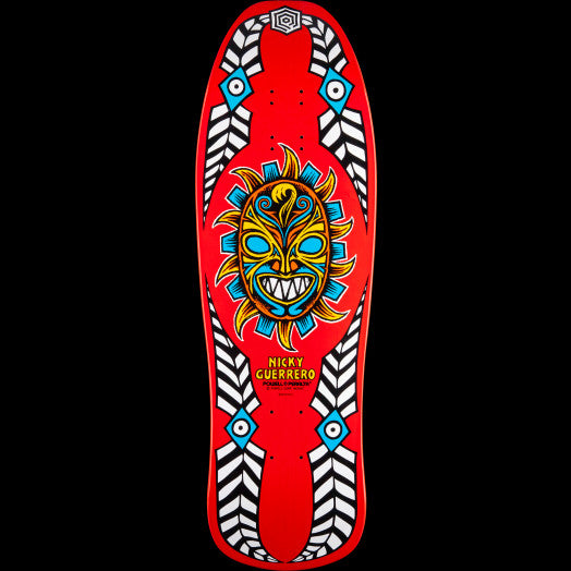 POWELL PERALTA GUERRERO RED MASK (10