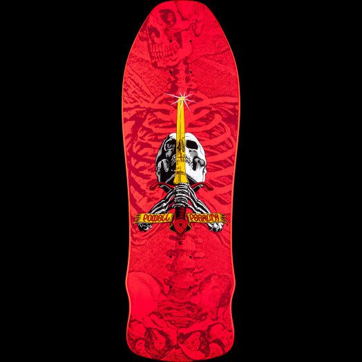 POWELL-PERALTA SKULL AND SWORD PINK (9.75