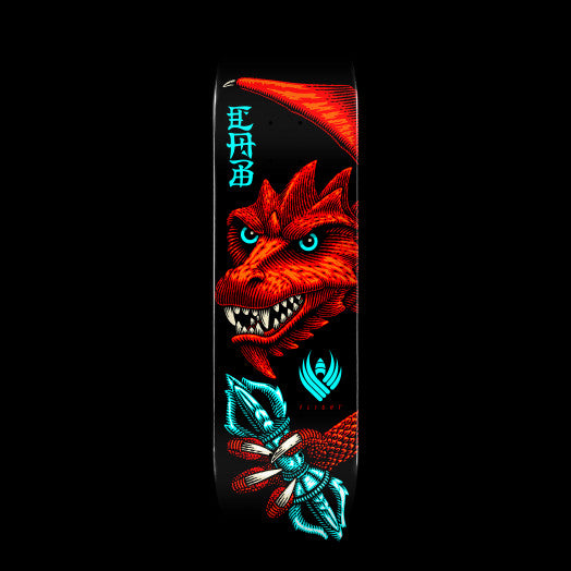 Powell Peralta Pro Steve Caballero Dragon Wing Flight Skateboard Deck Shape 243 - (8.25